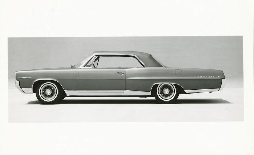 1963 Pontiac LeMans convertible - Slide 33