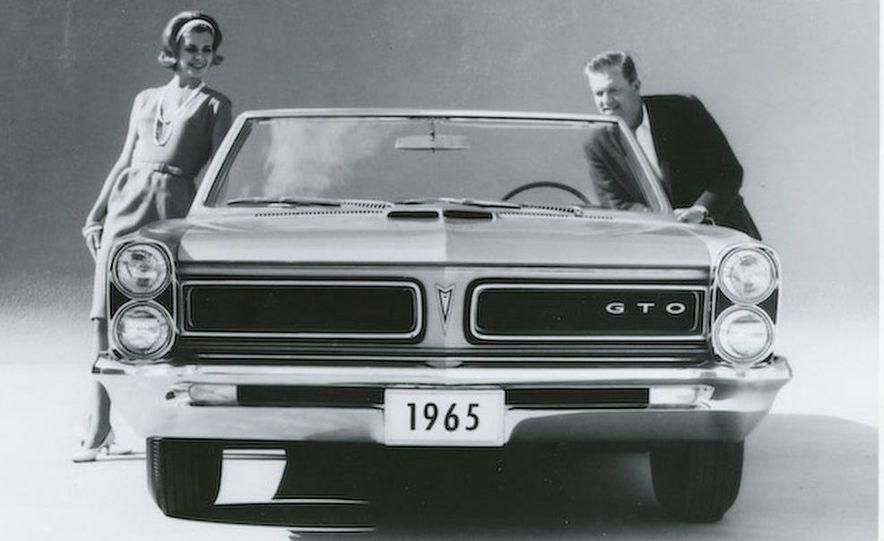 1963 Pontiac LeMans convertible - Slide 29