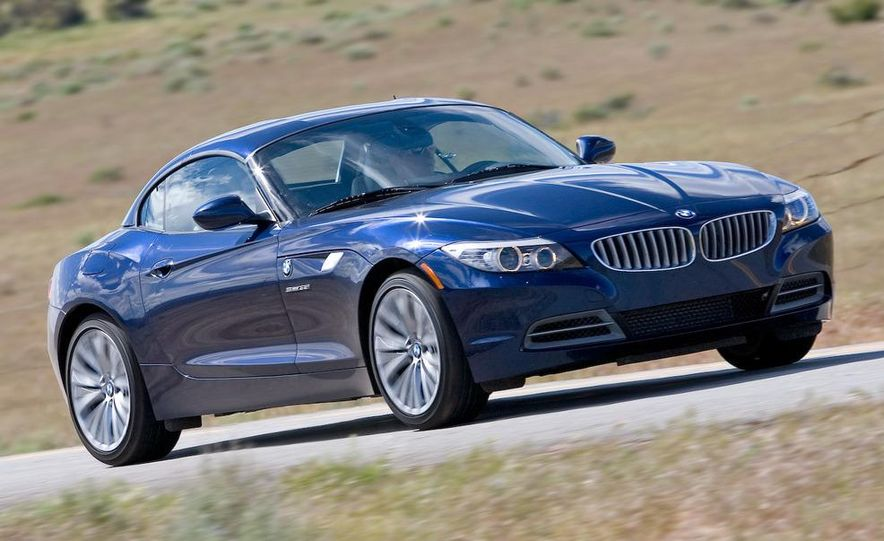 2009 BMW Z4 sDrive35i manual - Slide 1