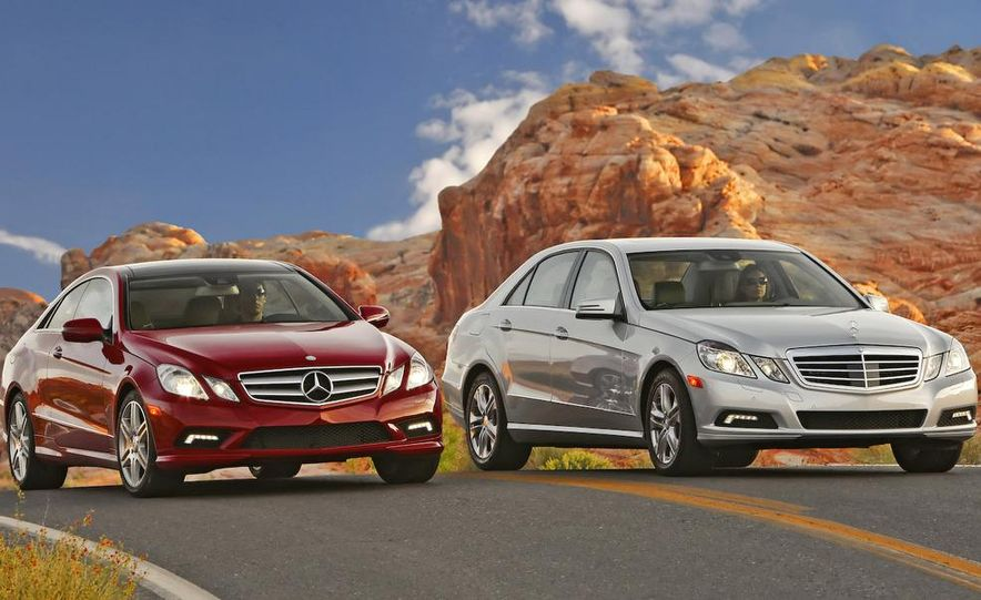 2010 Mercedes-Benz E550 coupe and sedan - Slide 1