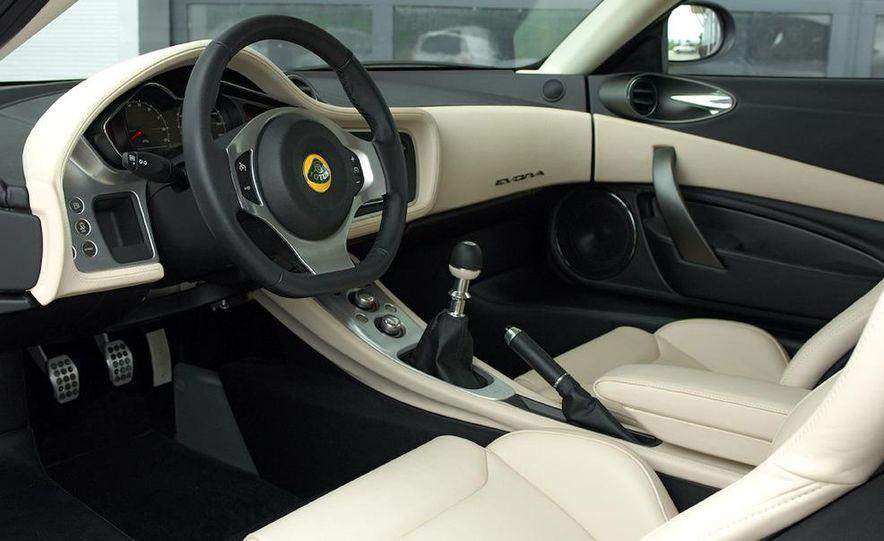 2010 Lotus Evora interior - Slide 1