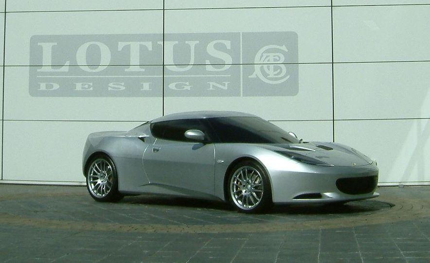 2010 Lotus Evora interior - Slide 15