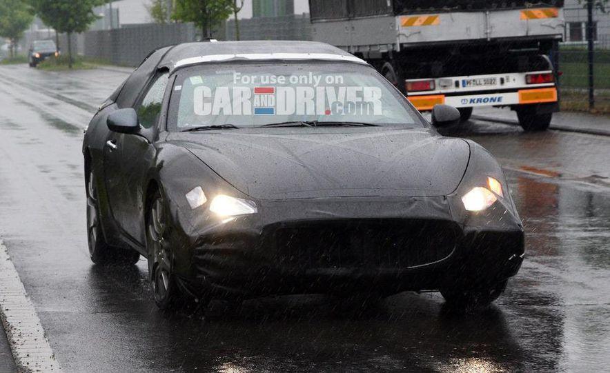 2010 Maserati GranTurismo Spyder (spy photo) - Slide 1
