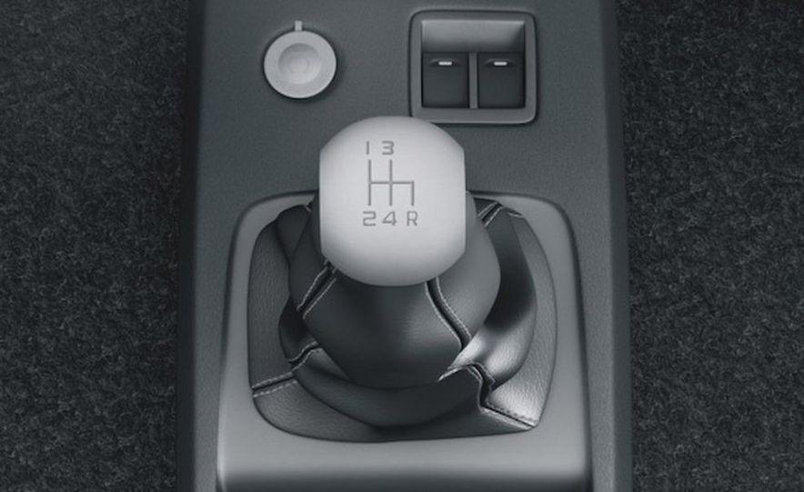 2009 Tata Nano shifter and power window controls - Slide 1