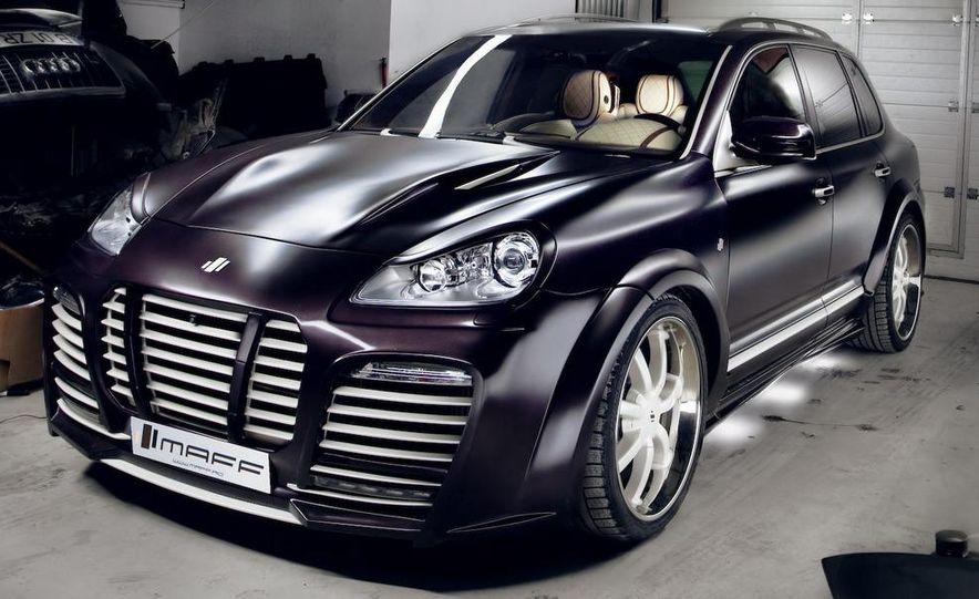 Maff Muron Porsche Cayenne - Slide 1
