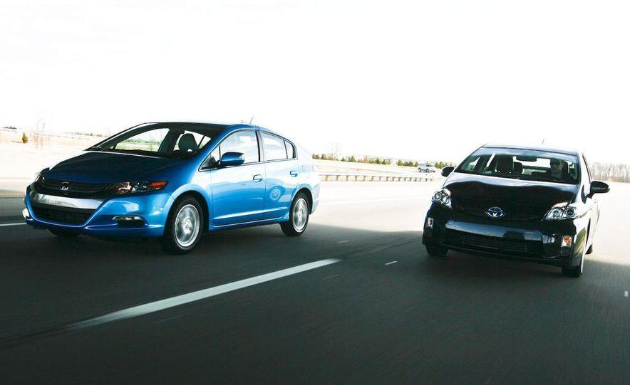1998 Chevrolet Metro, 2010 Toyota Prius, and 2010 Honda Insight - Slide 5