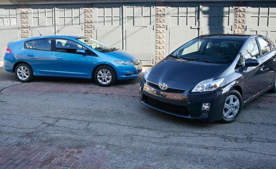 1998 Chevrolet Metro, 2010 Toyota Prius, and 2010 Honda Insight - Slide 14