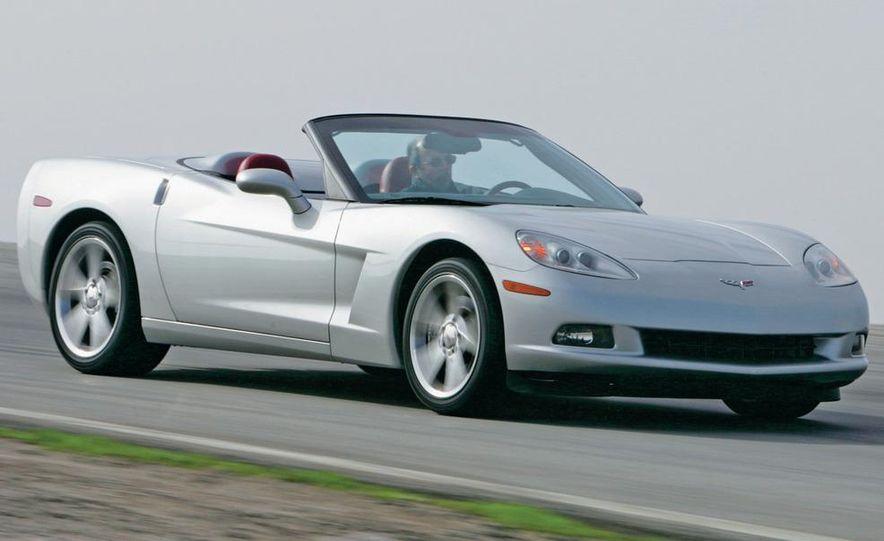 2005 (C6) Chevrolet Corvette convertible - Slide 1