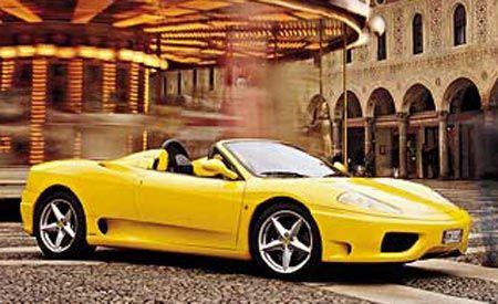 Ferrari 360 spider specs