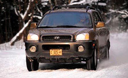 Hyundai Santa Fe V-6