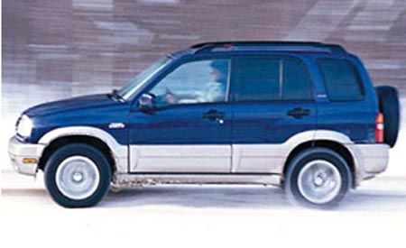 Suzuki Grand Vitara JLX Limited V-6