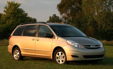 Dodge Ram Build And Price >> 2007 Toyota Sienna LE | Comparison Tests | Comparisons | Car and Driver