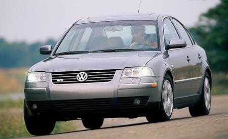 2002 Volkswagen Passat W-8 4MOTION