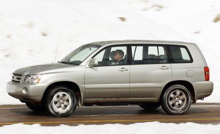 2003 Toyota Highlander Limited V-6 4WD