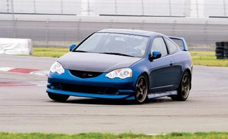 2002 HyTech Exhaust Systems/Progress Group Acura RSX Type-S