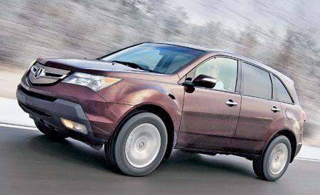 Acura MDX Sport Comparison Tests Comparisons Car And Driver - Acura mdx package comparison