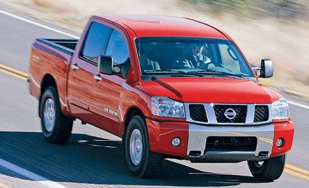 2007 Nissan Titan SE 4x4 Crew Cab