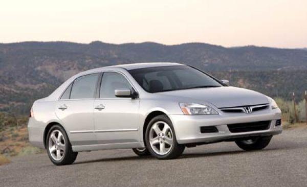 Honda accord 2006 tire size