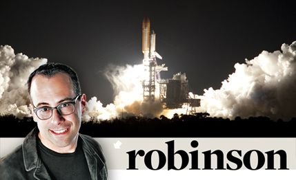 Aaron Robinson: From Orbit, You Can't see America Sliding Backward into Mediocrity