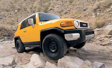 Toyota FJ Cruiser 4WD  Comparison Tests  Comparisons  Car and