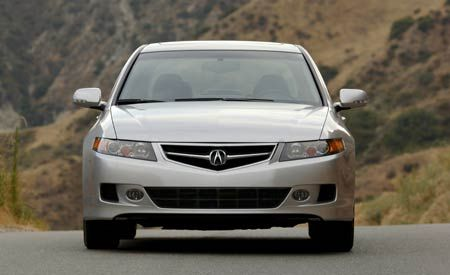 Acura ILX First Drive Review Car And Driver - 2006 acura tsx bumper