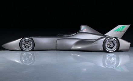 2012 DeltaWing IndyCar Concept Race Car