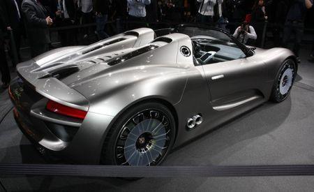 Porsche 918 Spyder Plug-In Hybrid Concept