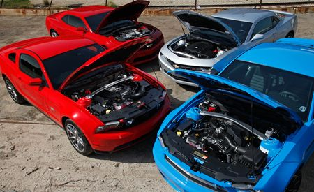 2011 Ford Mustangs vs. 2010 Chevrolet Camaros: Behind the Scenes