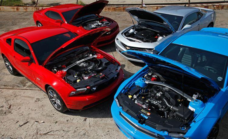 2011 Ford Mustangs vs. 2010 Chevrolet Camaros: Behind the Scenes