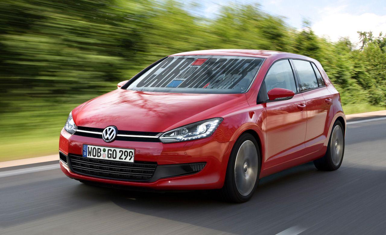 2013 Volkswagen Golf MKVII Rendered