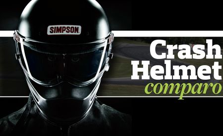 Crash Helmet Comparison: Arai GP-6S, Simpson Bandit, Bell M-4, Pyrotect Pro Airflow SA