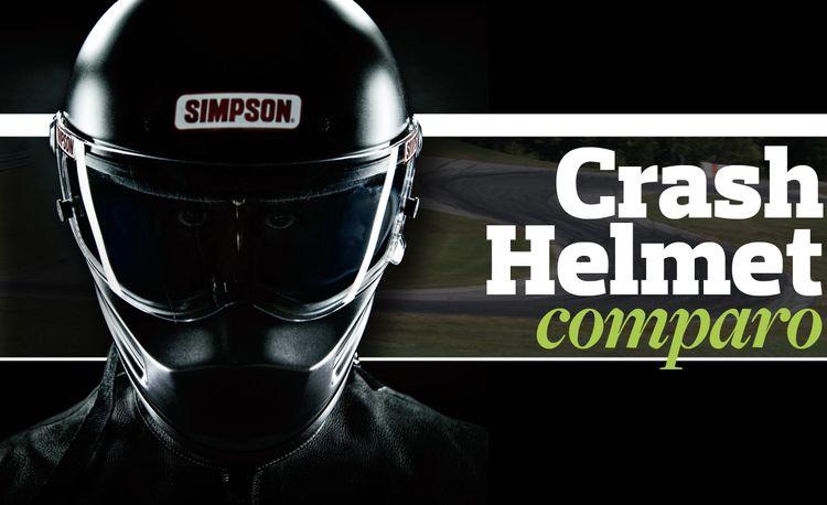 Crash Helmet Comparison: Arai GP-6S, Simpson Bandit, Bell M-4, Pyrotect Pro Airflow SA