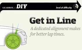 Get in Line: Do-It-Yourself Wheel Alignment
