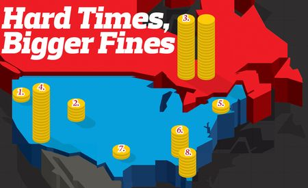 Hard Times, Bigger Fines: Governments Raising Fines to Balance Their Budgets
