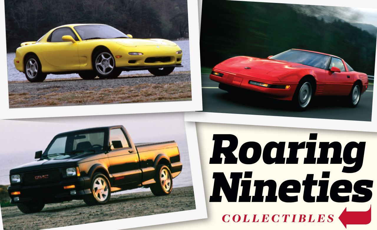 Nineties Collectibles: Mazda RX-7, Chevrolet Corvette ZR-1, GMC Syclone/Typhoon