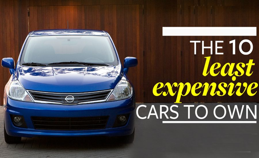 The 10 Least Expensive Cars to Own