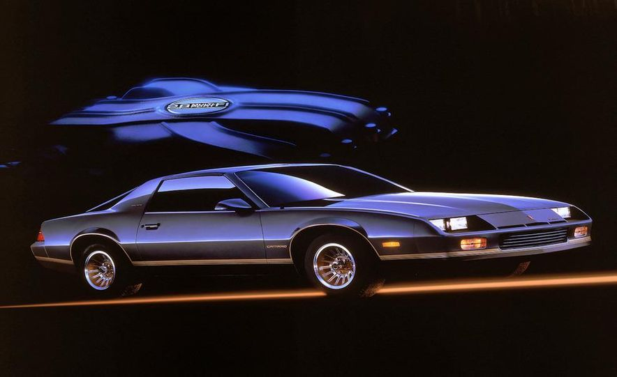 1985 Chevrolet Camaro Berlinetta - Slide 1