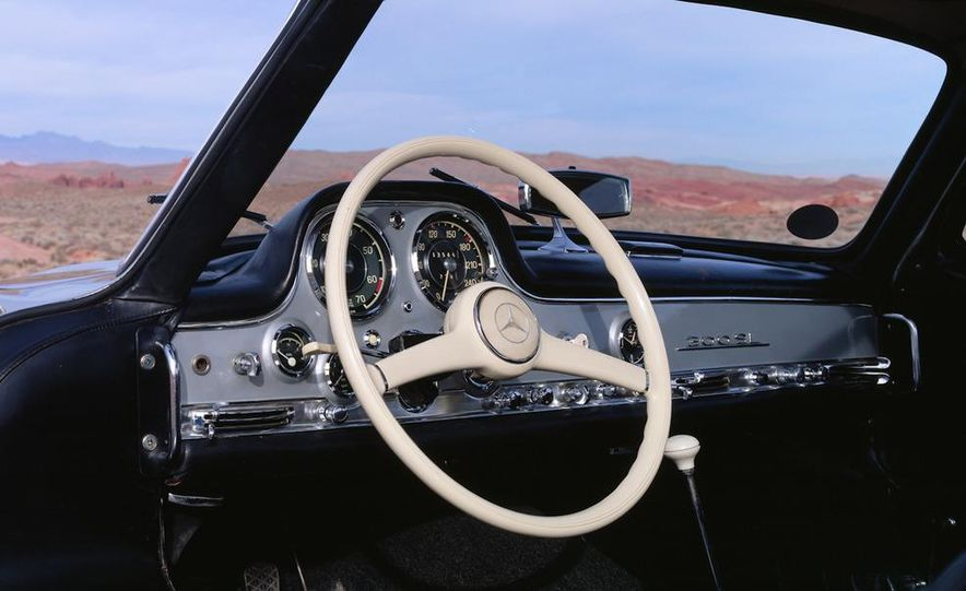 1954–1957 Mercedes-Benz 300SL Coupé - Slide 26