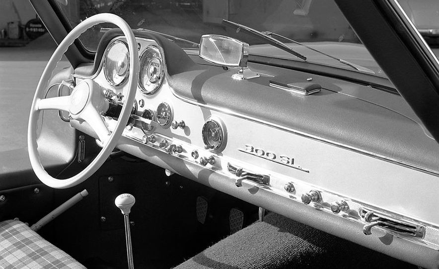 1954–1957 Mercedes-Benz 300SL Coupé - Slide 47