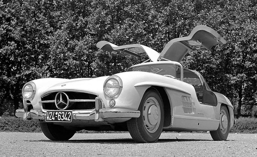 1954–1957 Mercedes-Benz 300SL Coupé - Slide 41