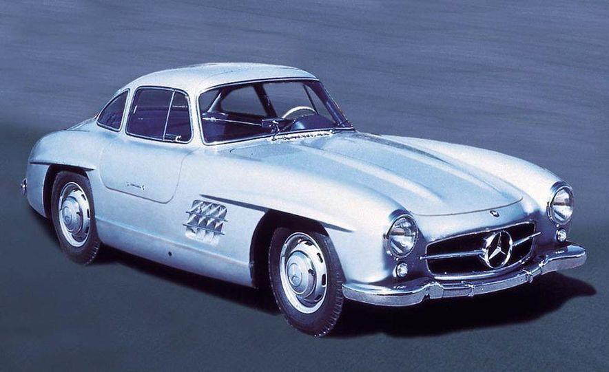 1954–1957 Mercedes-Benz 300SL Coupé - Slide 9