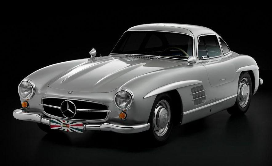 1954–1957 Mercedes-Benz 300SL Coupé - Slide 17