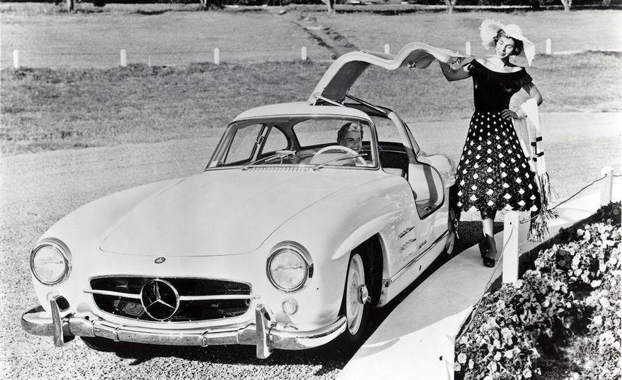 1954–1957 Mercedes-Benz 300SL Coupé - Slide 43