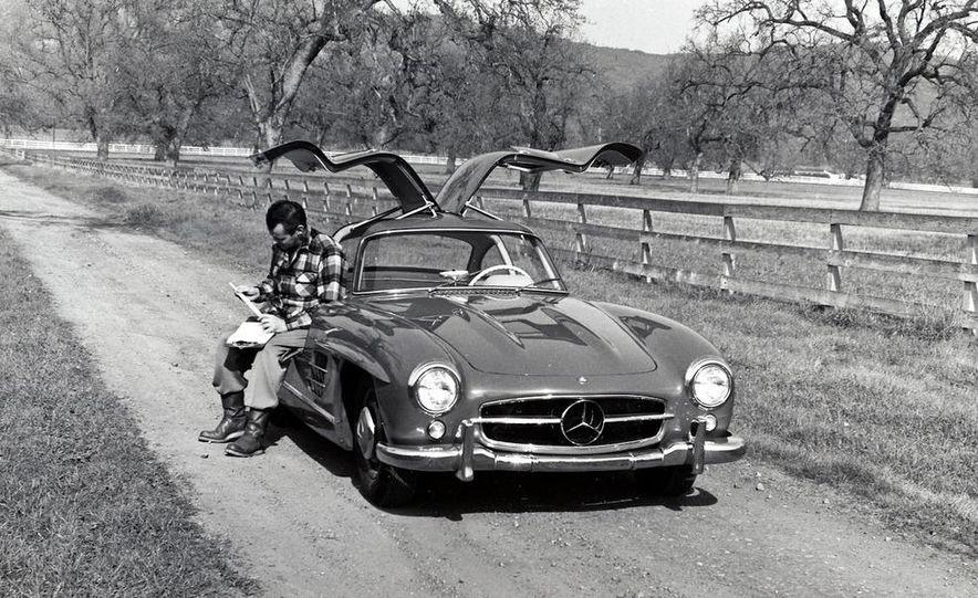 1954–1957 Mercedes-Benz 300SL Coupé - Slide 44