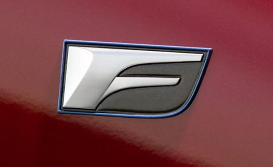 2008 Lexus IS F - Slide 21