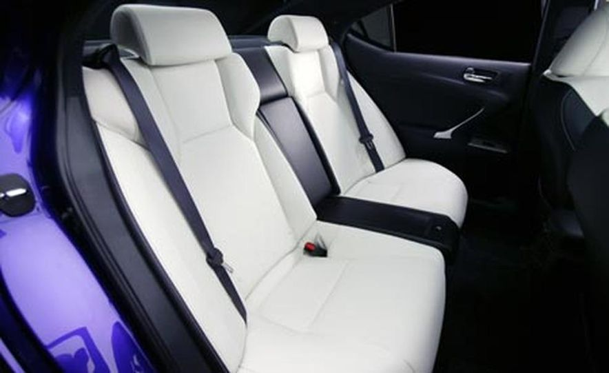 2008 Lexus IS F - Slide 25