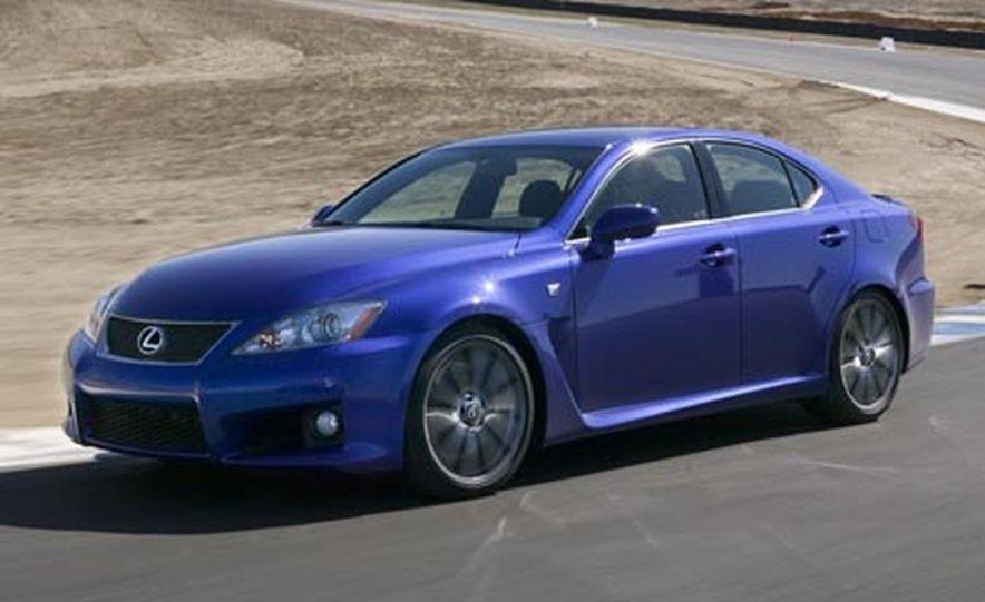 2008 Lexus IS F - Slide 8