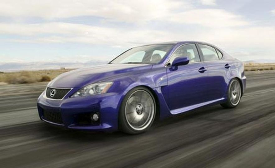 2008 Lexus IS F - Slide 9