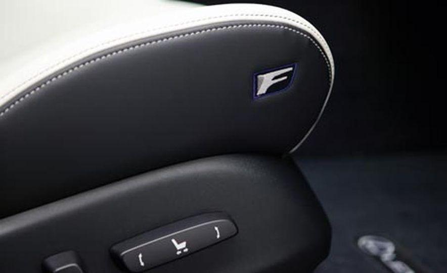2008 Lexus IS F - Slide 27
