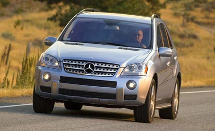 2008 Mercedes-Benz ML550 - Slide 1
